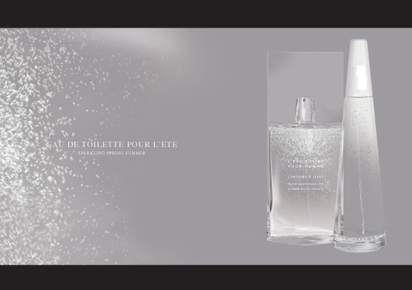 sparkling bottle spring summer fragrance