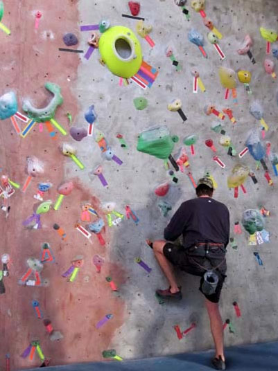 rock climbling