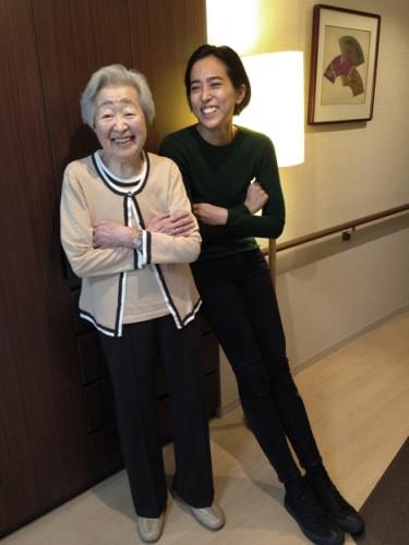 Nao with Grandma