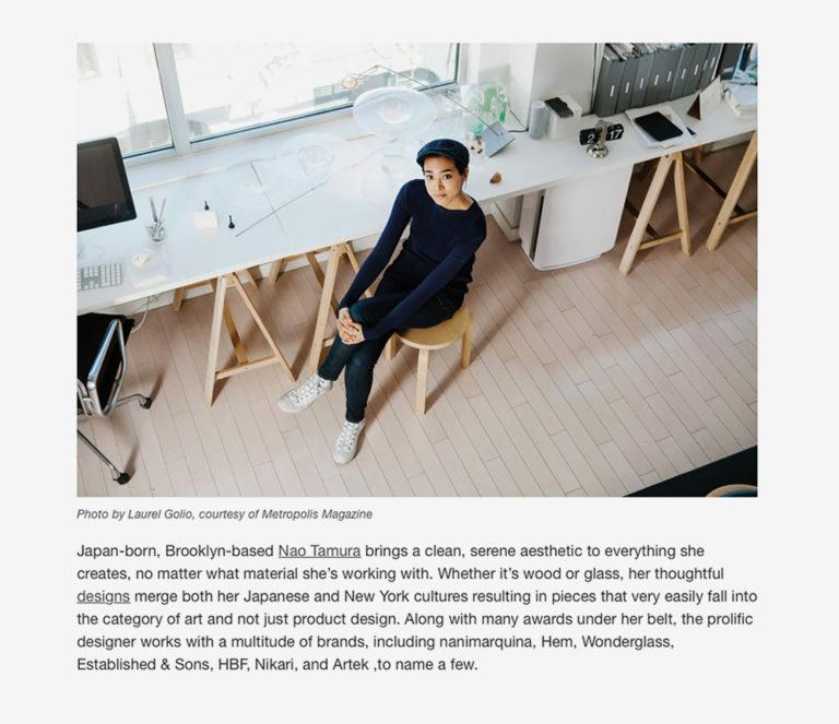2018_Nao_DesignMilk_01, naotamura, nao tamura, 田村奈穂、田村なお